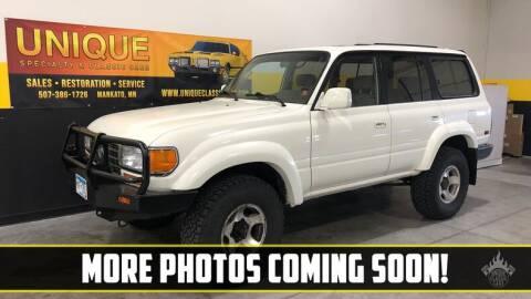 1995 Toyota Land Cruiser for sale at UNIQUE SPECIALTY & CLASSICS in Mankato MN