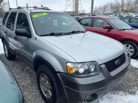 2005 Ford Escape for sale at Trocci's Auto Sales in West Pittsburg PA