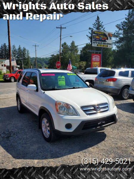 2006 Honda CR-V for sale at Wrights Auto Sales and Repair in Dolgeville NY
