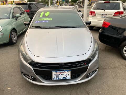 2014 Dodge Dart for sale at CAR GENERATION CENTER, INC. in Los Angeles CA