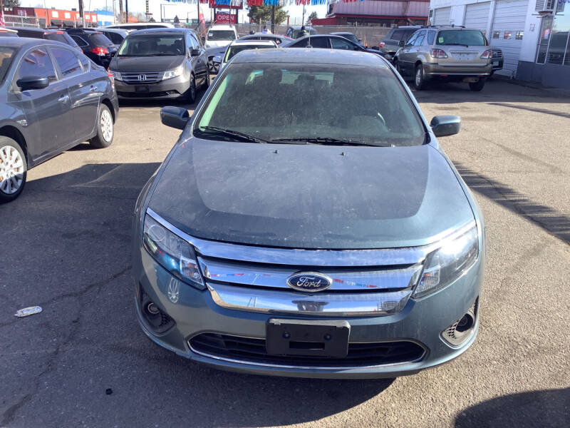 2012 Ford Fusion for sale at GPS Motors in Denver CO
