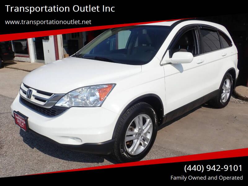 2011 Honda CR-V for sale at Transportation Outlet Inc in Eastlake OH
