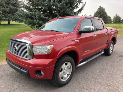 2011 Toyota Tundra for sale at BELOW BOOK AUTO SALES in Idaho Falls ID