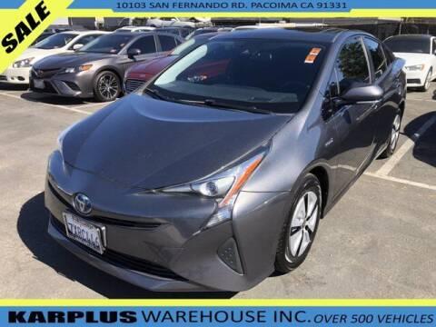 2017 Toyota Prius for sale at Karplus Warehouse in Pacoima CA