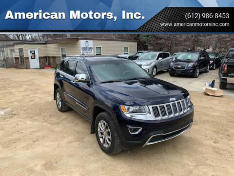 2014 Jeep Grand Cherokee for sale at American Motors, Inc. in Farmington MN