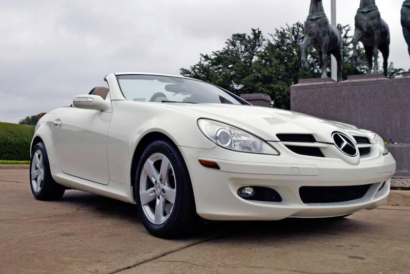 2007 Mercedes-Benz SLK for sale at European Motor Cars LTD in Fort Worth TX