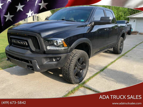2017 RAM Ram Pickup 1500 for sale at Ada Truck Sales in Ada OH