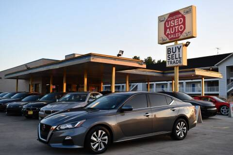 2019 Nissan Altima for sale at Houston Used Auto Sales in Houston TX