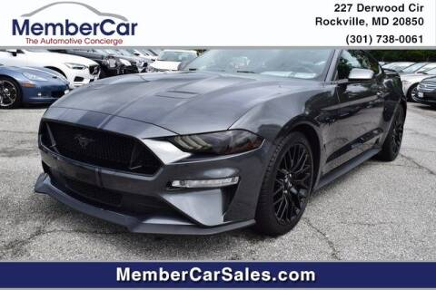 2019 Ford Mustang for sale at MemberCar in Rockville MD