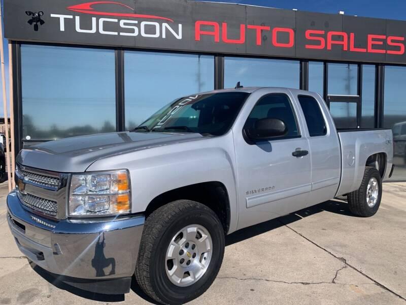 2013 Chevrolet Silverado 1500 for sale at Tucson Auto Sales in Tucson AZ