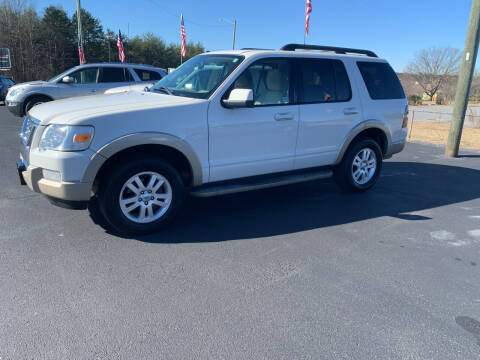 2009 Ford Explorer for sale at Doug White's Auto Wholesale Mart in Newton NC