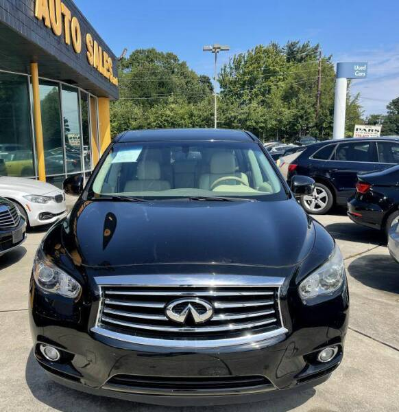 2014 Infiniti QX60 for sale at Pars Auto Sales Inc in Stone Mountain GA