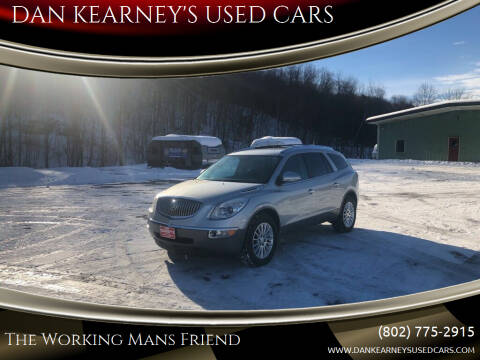 2012 Buick Enclave for sale at DAN KEARNEY'S USED CARS in Center Rutland VT