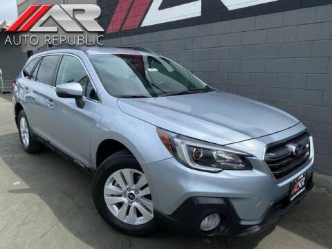 2018 Subaru Outback for sale at Auto Republic Fullerton in Fullerton CA