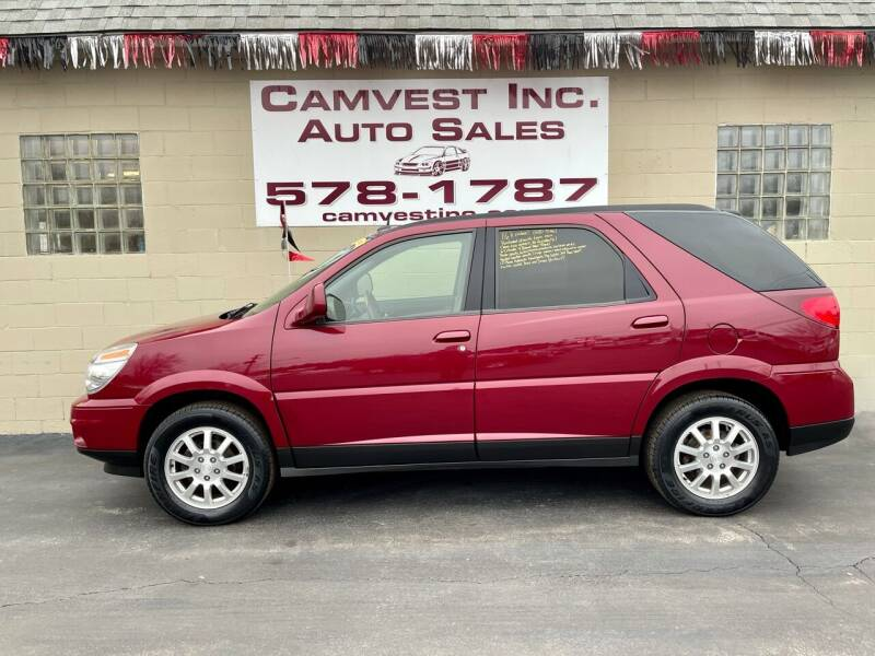 2007 Buick Rendezvous for sale at Camvest Inc. Auto Sales in Depew NY