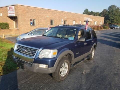 2006 Ford Explorer for sale at ARA Auto Sales in Winston-Salem NC
