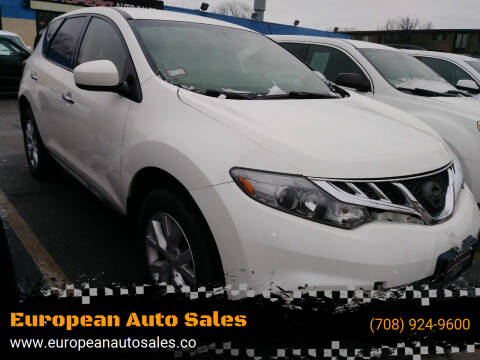 2014 Nissan Murano for sale at European Auto Sales in Bridgeview IL