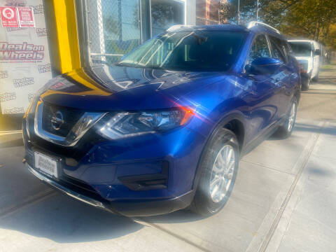 2017 Nissan Rogue for sale at DEALS ON WHEELS in Newark NJ