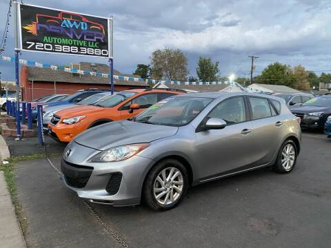 2012 Mazda MAZDA3 for sale at AWD Denver Automotive LLC in Englewood CO