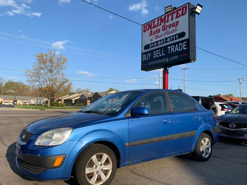 2009 Kia Rio for sale at Unlimited Auto Group in West Chester OH