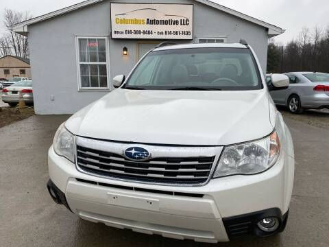 2010 Subaru Forester for sale at COLUMBUS AUTOMOTIVE in Reynoldsburg OH