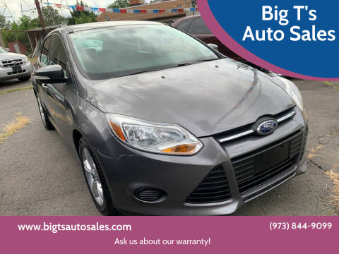 2014 Ford Focus for sale at Big T's Auto Sales in Belleville NJ