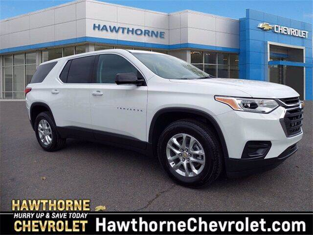 2021 Chevrolet Traverse for sale at Hawthorne Chevrolet in Hawthorne NJ