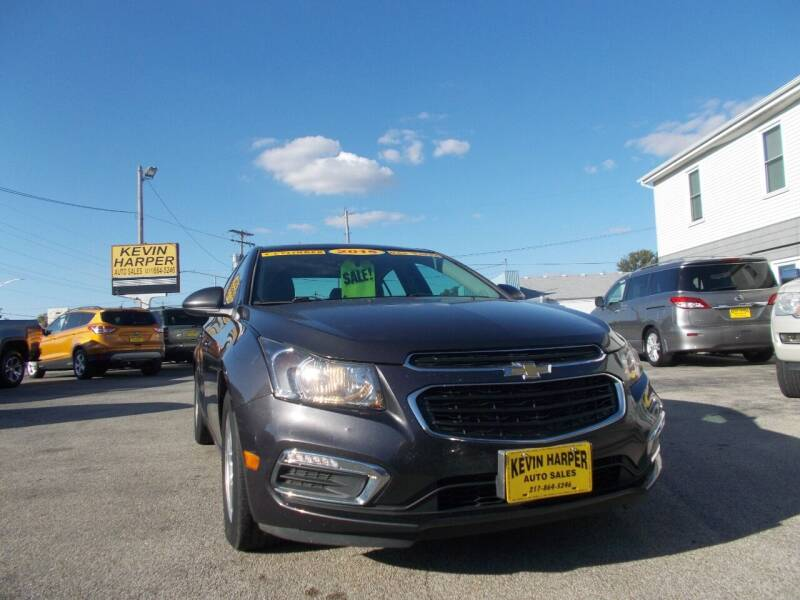 2015 Chevrolet Cruze for sale at Kevin Harper Auto Sales in Mount Zion IL