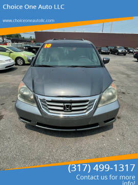 2010 Honda Odyssey for sale at Choice One Auto LLC in Beech Grove IN