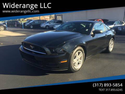 2013 Ford Mustang for sale at Widerange LLC in Greenwood IN