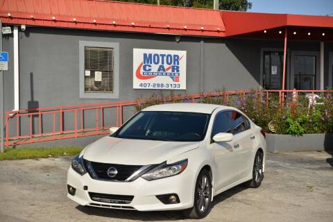 2018 Nissan Altima for sale at Motor Car Concepts II - Kirkman Location in Orlando FL