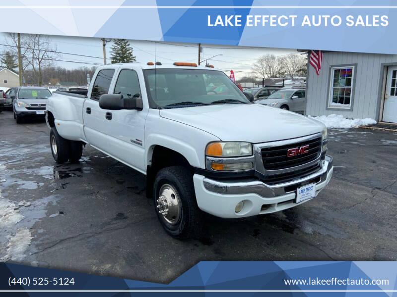 2004 GMC Sierra 3500 for sale at Lake Effect Auto Sales in Chardon OH