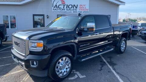 2016 GMC Sierra 2500HD for sale at Action Motor Sales in Gaylord MI