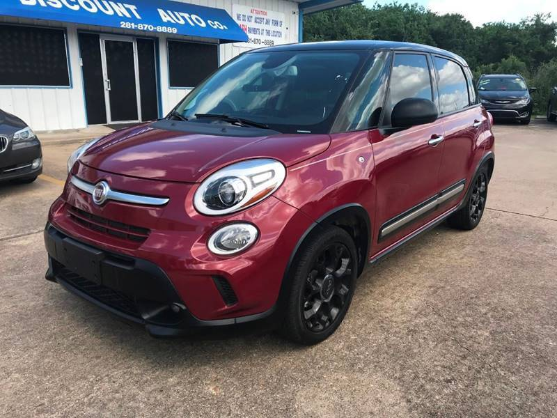 2016 FIAT 500L for sale at Discount Auto Company in Houston TX