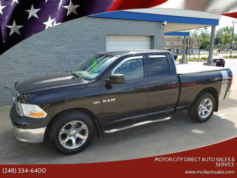 2010 Dodge Ram Pickup 1500 for sale at Motor City Direct Auto Sales & Service in Pontiac MI