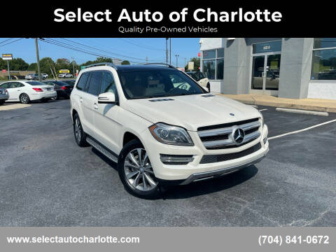 2014 Mercedes-Benz GL-Class for sale at Select Auto of Charlotte in Matthews NC