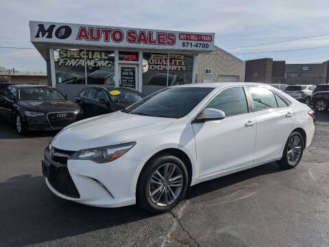 2015 Toyota Camry for sale at Mo Auto Sales in Fairfield OH