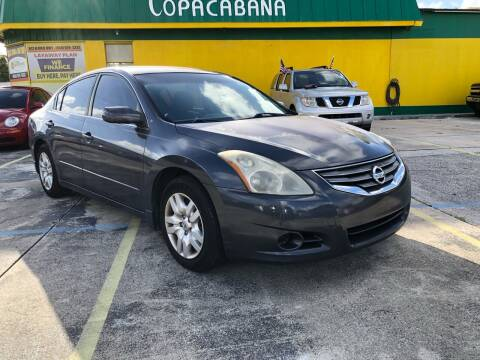 2012 Nissan Altima for sale at Trans Copacabana Auto Sales in Hollywood FL