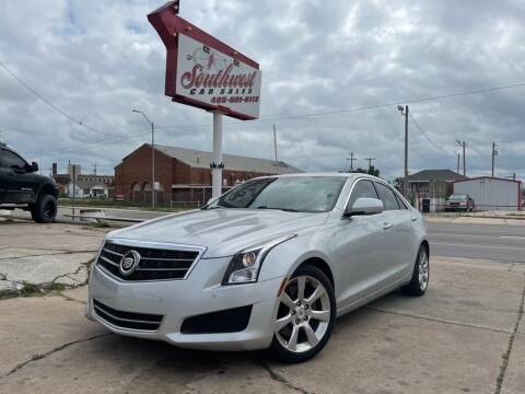 2014 Cadillac ATS for sale at Southwest Car Sales in Oklahoma City OK