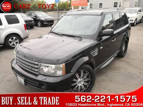 2009 Land Rover Range Rover Sport for sale at Carz 4 Toyz in Inglewood CA