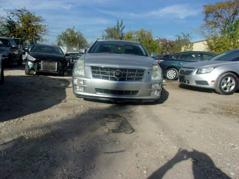 2008 Cadillac STS for sale at ALL STAR MOTORS INC in Houston TX