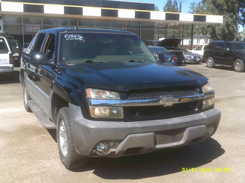 2005 Chevrolet Avalanche for sale at Mendocino Auto Auction in Ukiah CA