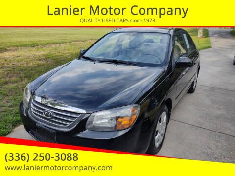 2009 Kia Spectra for sale at Lanier Motor Company in Lexington NC