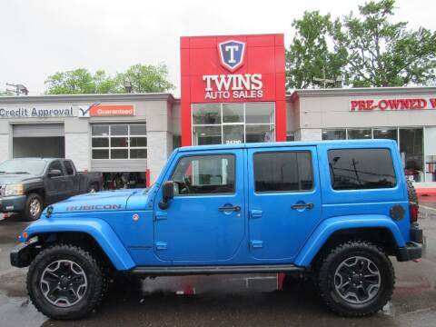 2016 Jeep Wrangler Unlimited for sale at Twins Auto Sales Inc in Detroit MI