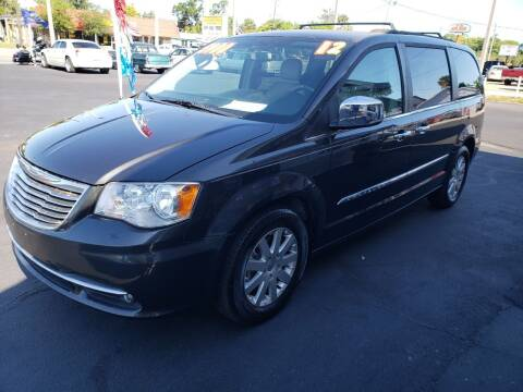 2012 Chrysler Town and Country for sale at ANYTHING ON WHEELS INC in Deland FL