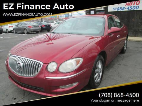 2009 Buick LaCrosse for sale at EZ Finance Auto in Calumet City IL