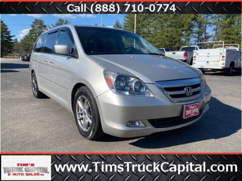 2006 Honda Odyssey for sale at TTC AUTO OUTLET/TIM'S TRUCK CAPITAL & AUTO SALES INC ANNEX in Epsom NH