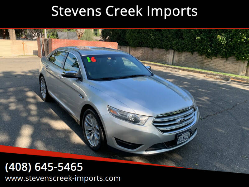 2016 Ford Taurus for sale at Stevens Creek Imports in San Jose CA