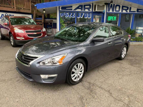 2013 Nissan Altima for sale at Car World Inc in Arlington VA