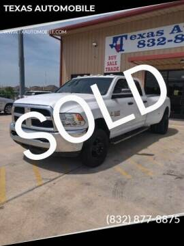 2015 RAM Ram Pickup 3500 for sale at TEXAS AUTOMOBILE in Houston TX